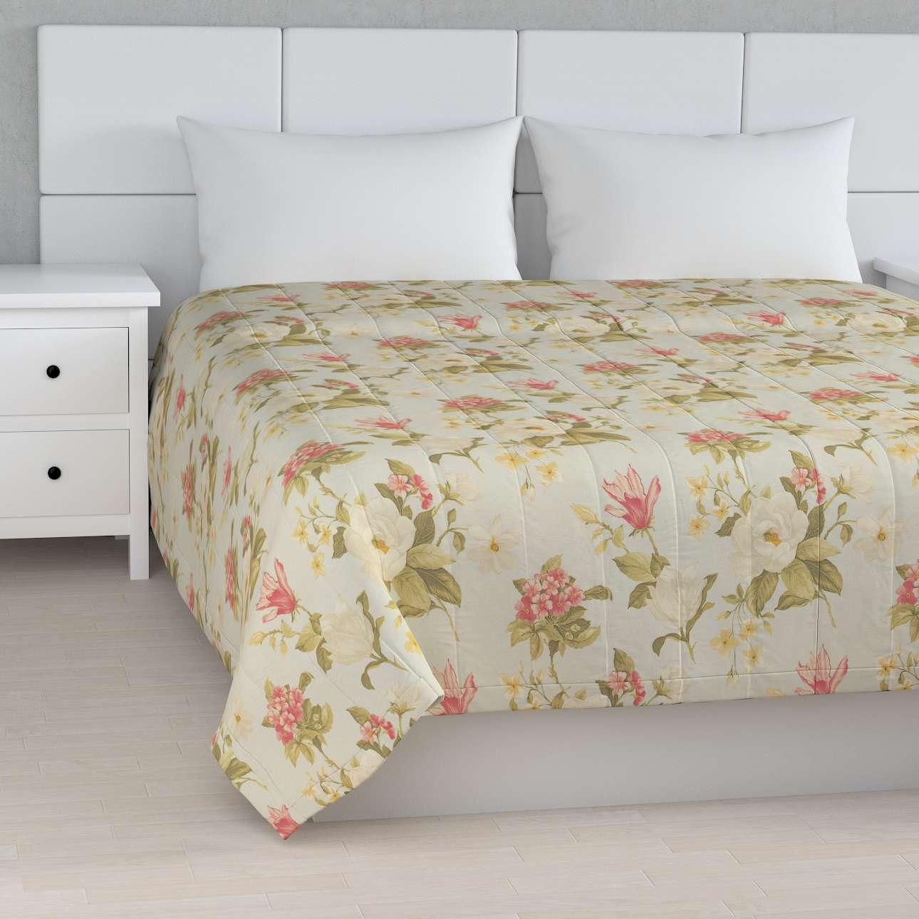 Sengeteppe quiltet<br/>10cm striper fra kolleksjonen Londres , Stoffets bredde: 123-65