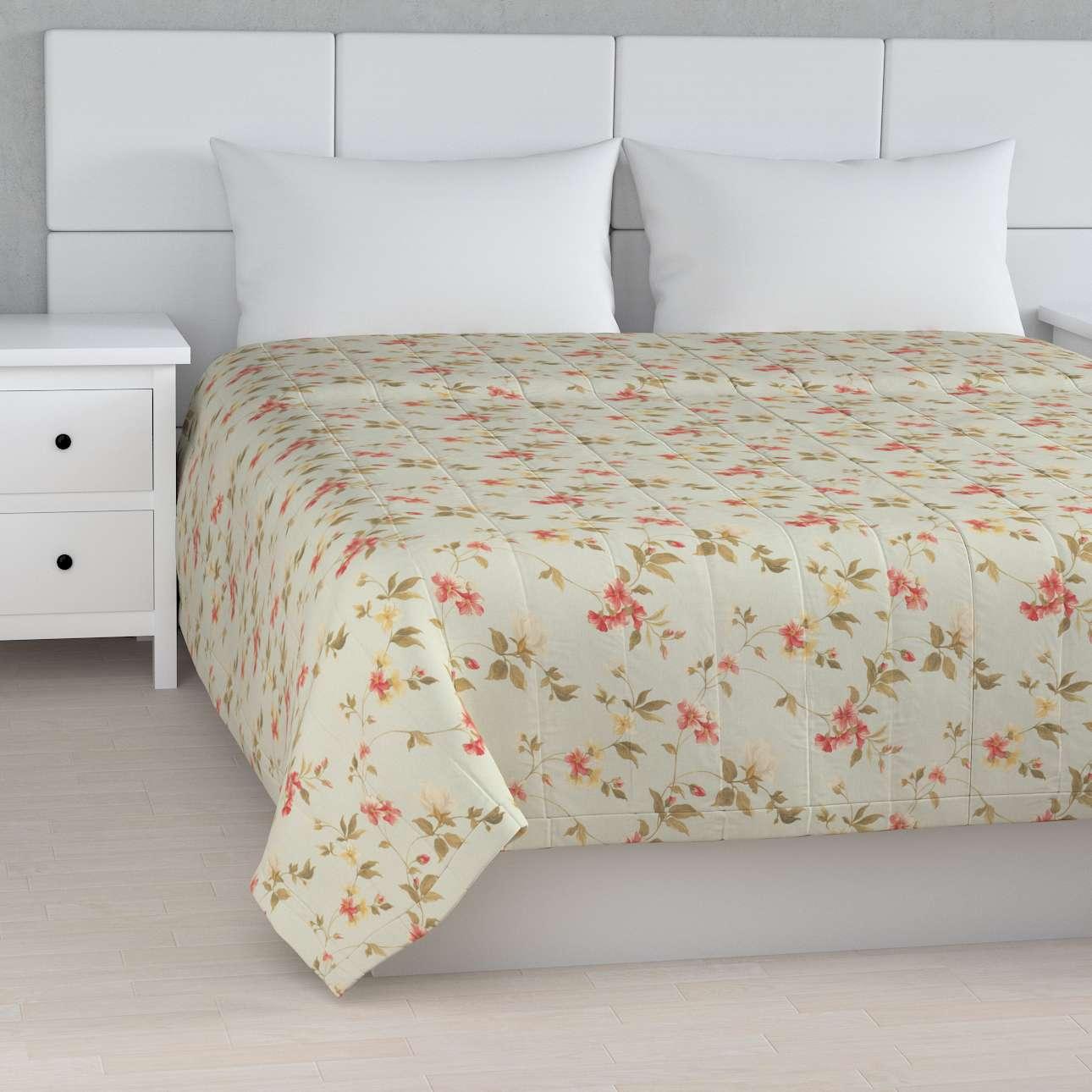 Sengetæppe quiltet<br/>10cm striber fra kollektionen Londres, Stof: 124-65