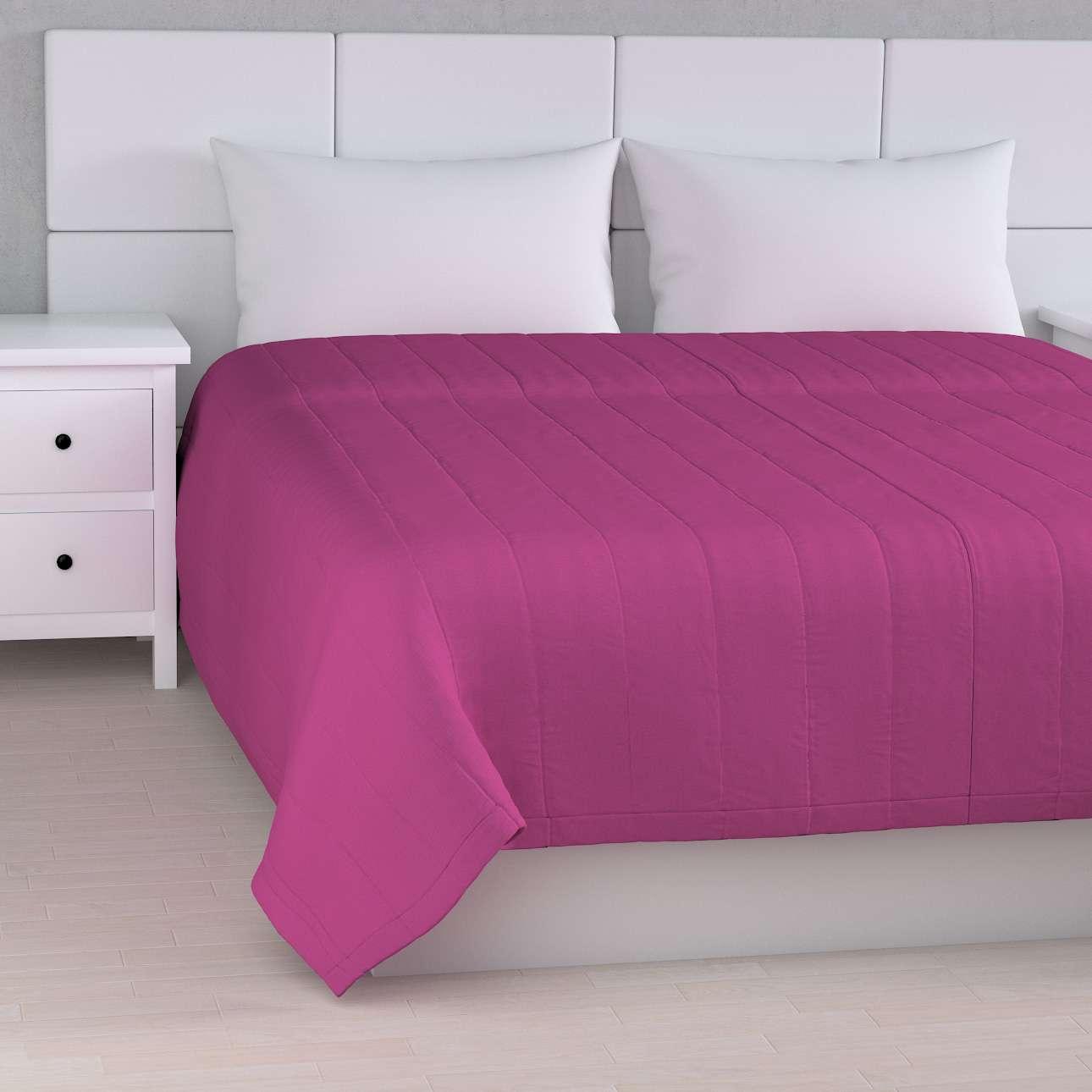 Sengeteppe quiltet<br/>10cm striper fra kolleksjonen Etna - Ikke for gardiner, Stoffets bredde: 705-23