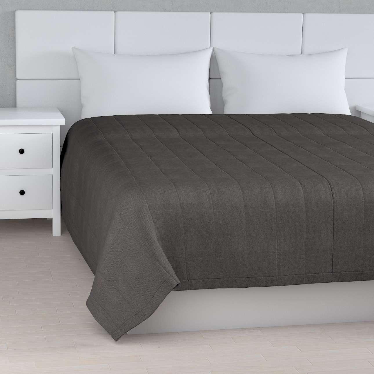 Sengeteppe quiltet<br/>10cm striper fra kolleksjonen Etna - Ikke for gardiner, Stoffets bredde: 705-35