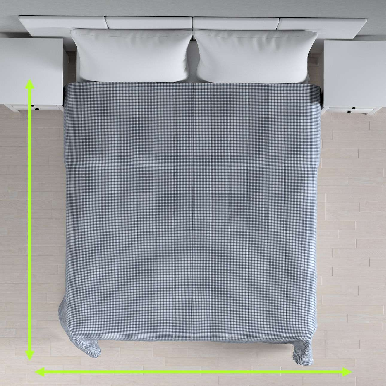 Basic steppelt takaró a kollekcióból Quadro Lakástextil, Dekoranyag: 136-00
