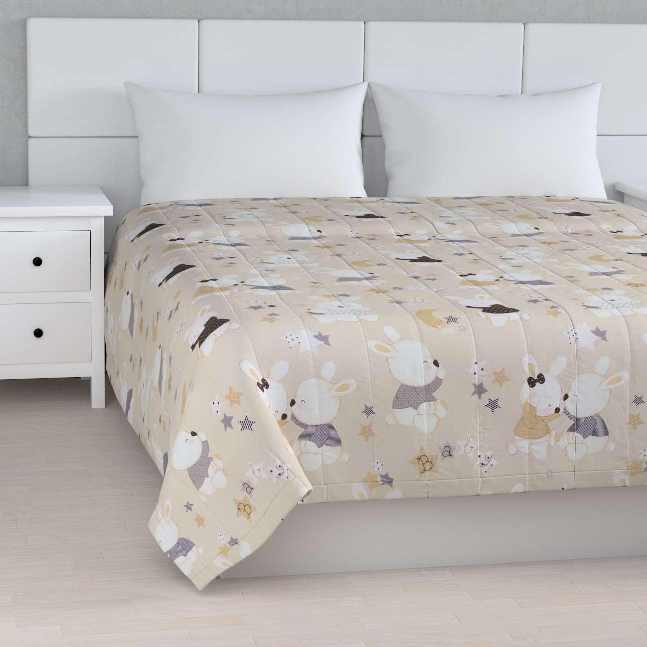 Cuvertura matlasata cu model în colecție Aventura, țesătură: 141-85