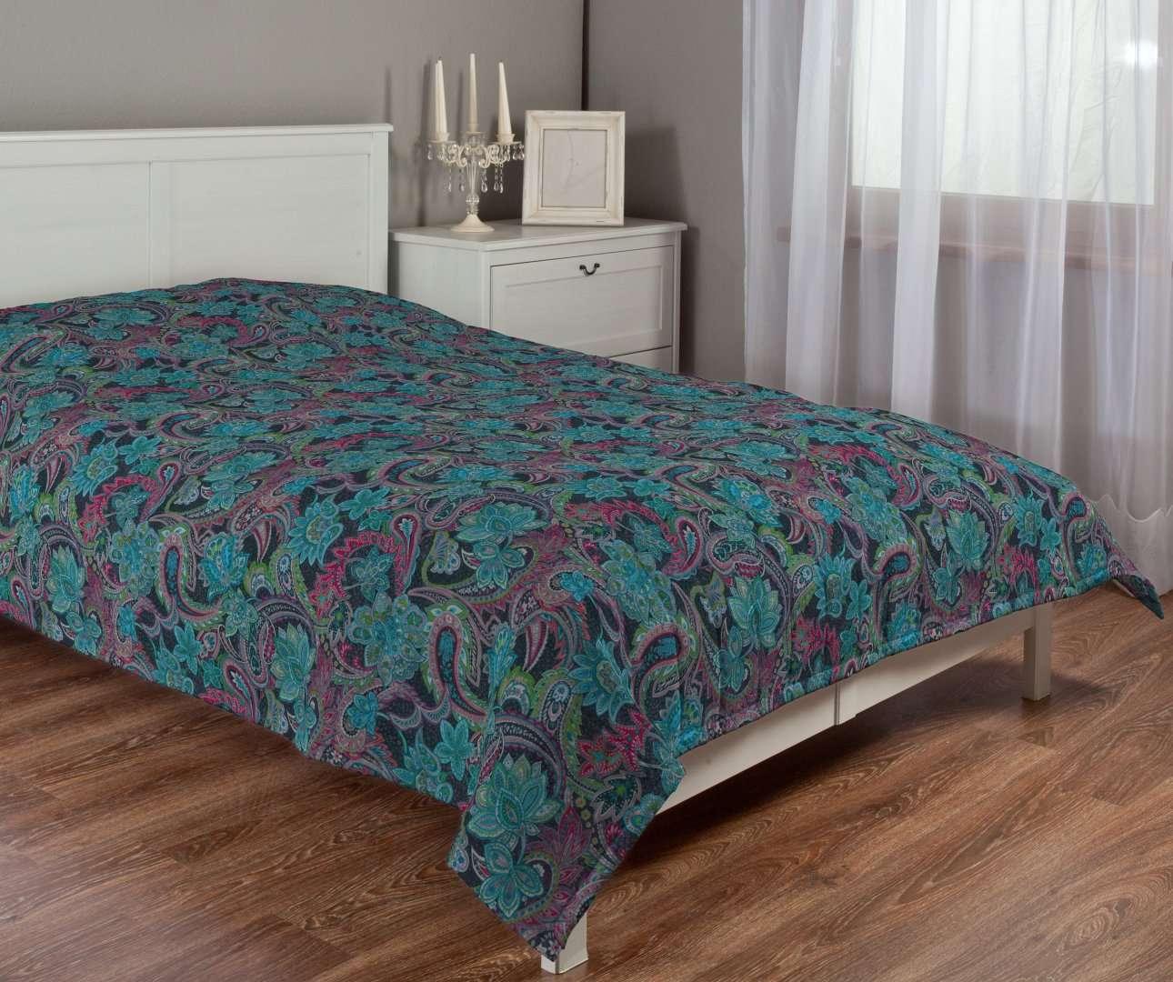 Sengeteppe quiltet<br/>10cm striper fra kolleksjonen Velvet, Stoffets bredde: 704-22
