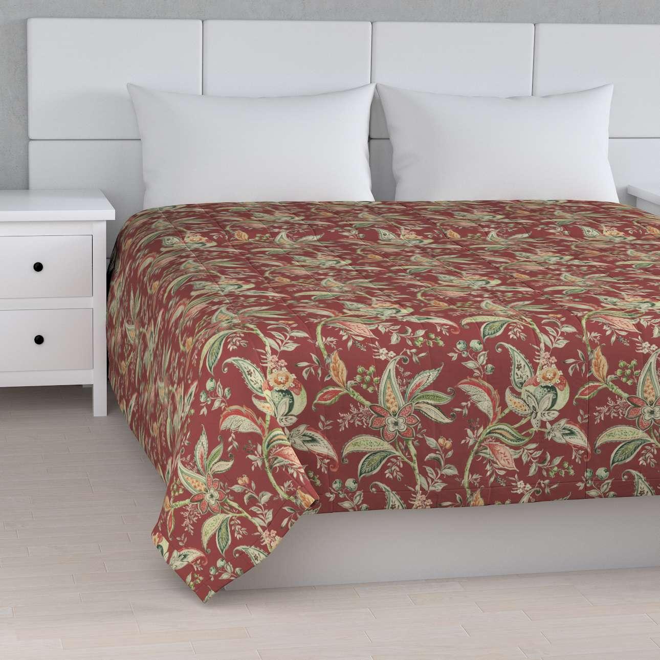 Cuvertura matlasata cu model în colecție Gardenia, țesătură: 142-12