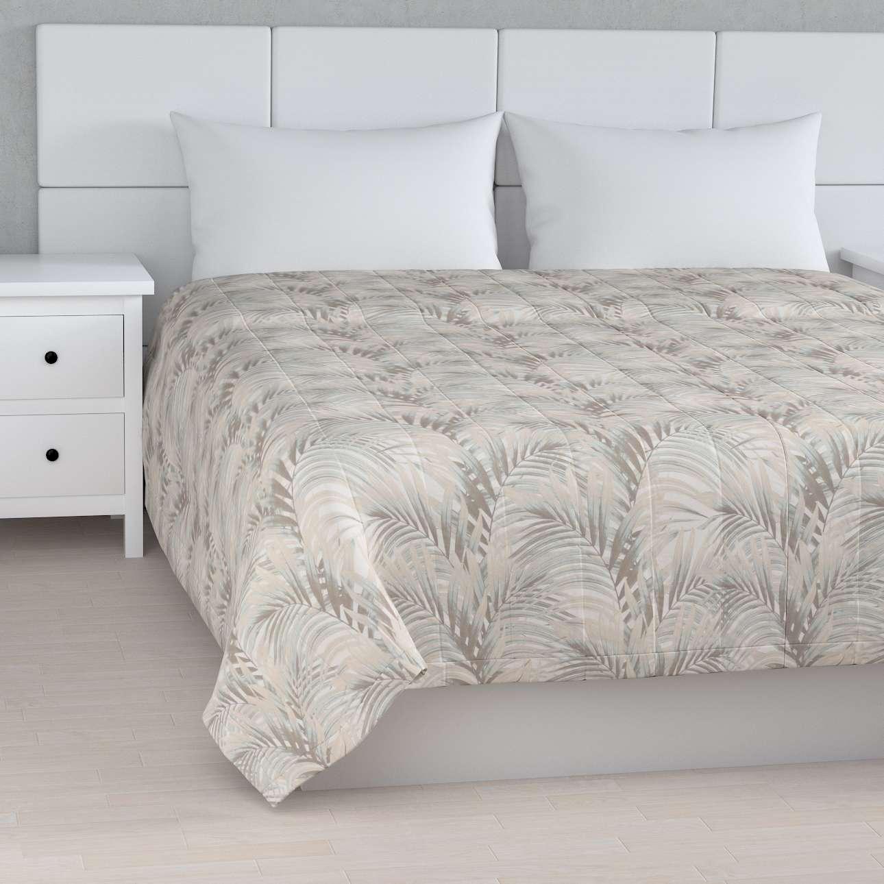 Tagesdecke mit Streifen-Steppung von der Kollektion Gardenia, Stoff: 142-14