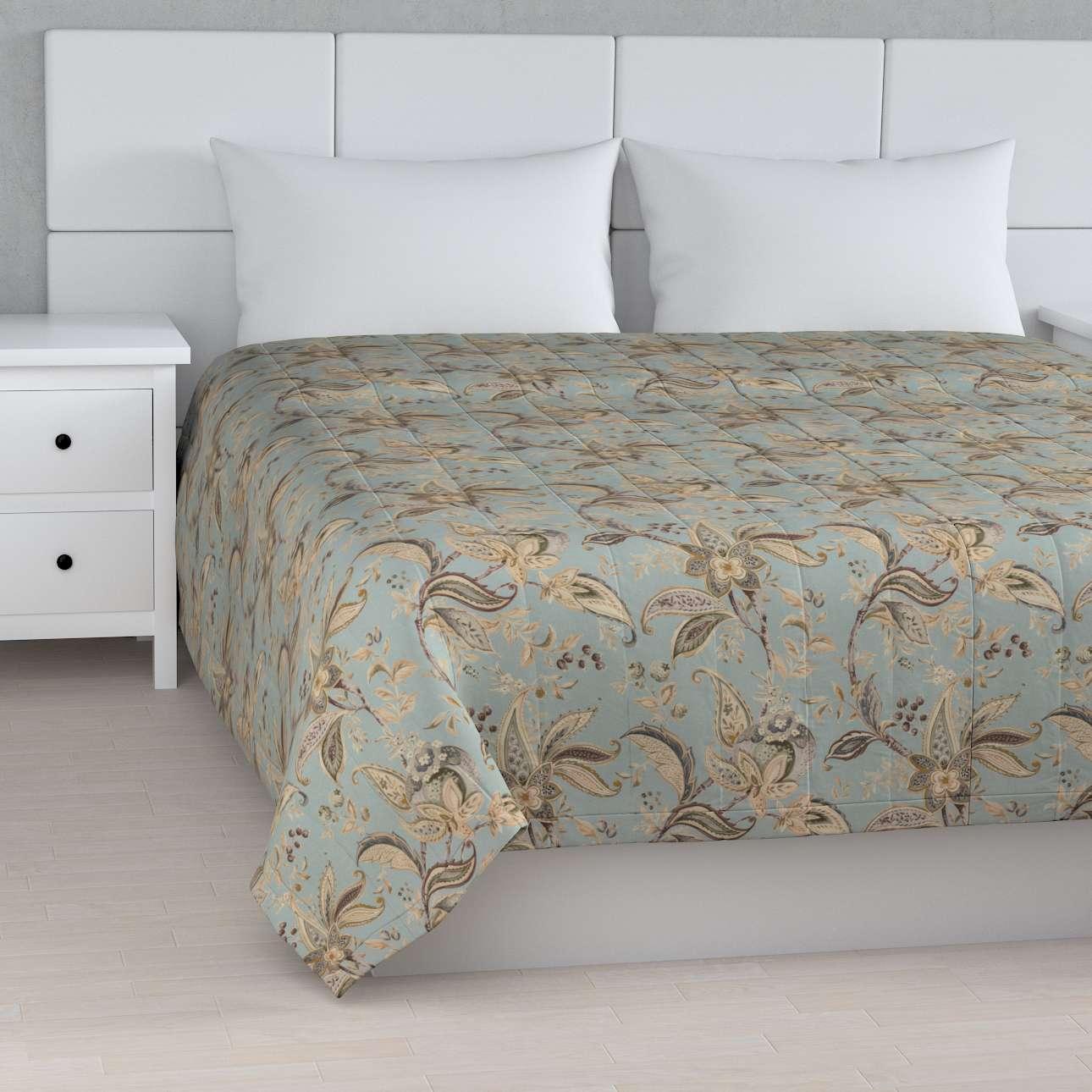 Päiväpeitto tikattu raidat mallistosta Gardenia, Kangas: 142-18