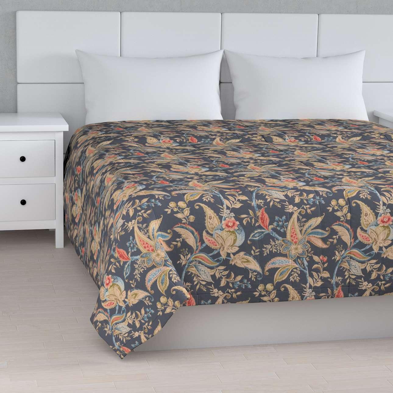 Sengeteppe quiltet<br/>10cm striper fra kolleksjonen Gardenia, Stoffets bredde: 142-19