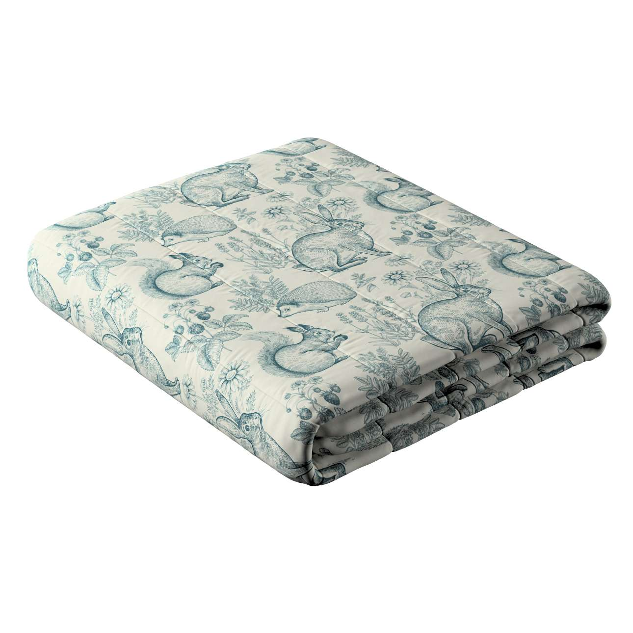 Striped quilted bedspread in collection Magic Collection, fabric: 500-04