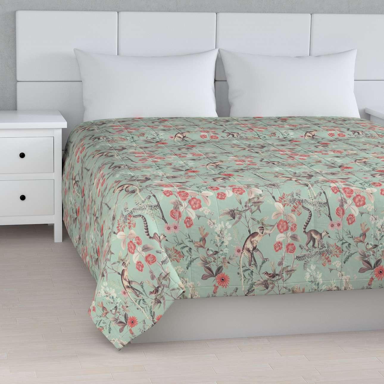 Narzuta pikowana w pasy w kolekcji Tropical Island, tkanina: 142-62