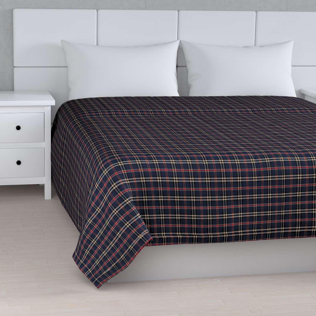 Sengetæppe quiltet<br/>10cm striber fra kollektionen Bristol, Stof: 142-68