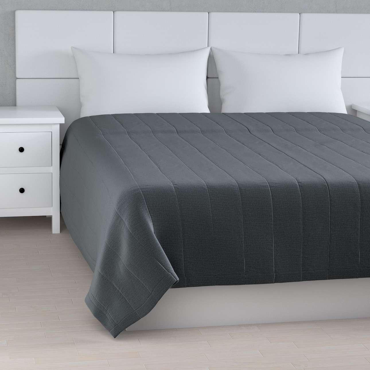 Tagesdecke mit Streifen-Steppung von der Kollektion Ingrid, Stoff: 705-43