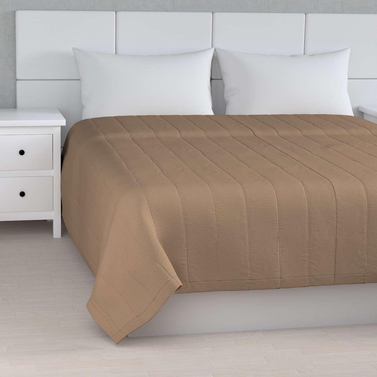 Sengetæppe quiltet<br/>10cm striber fra kollektionen Quadro II, Stof: 136-09