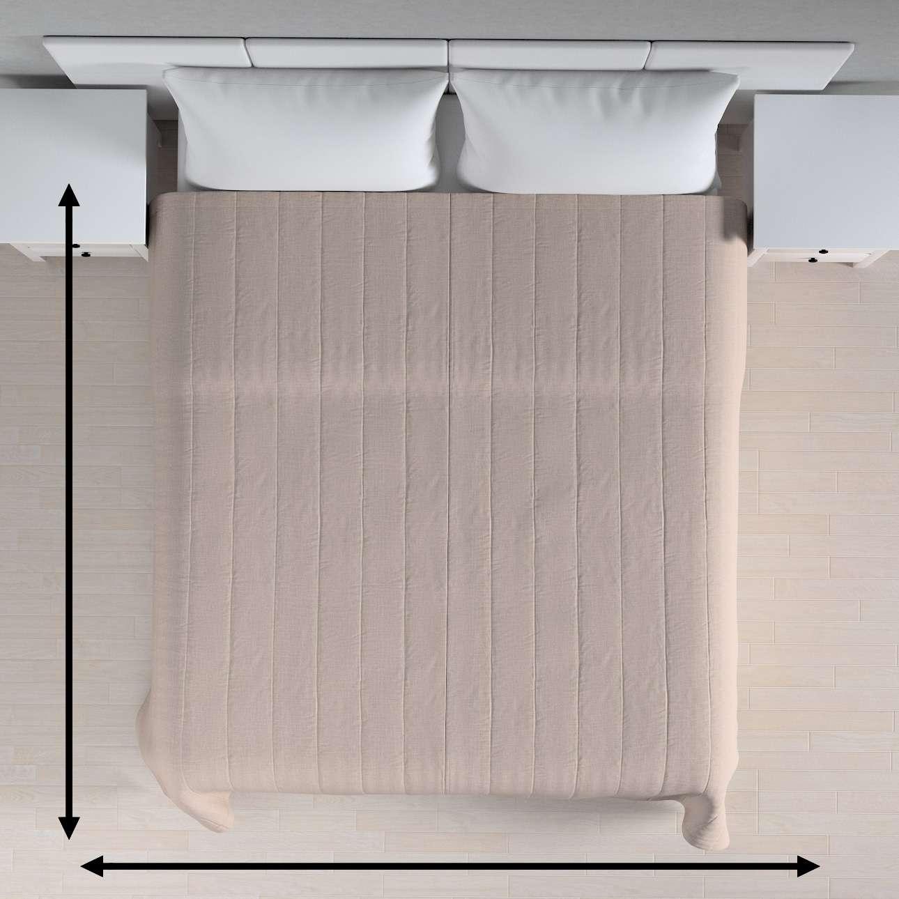Sengetæppe quiltet<br/>10cm striber fra kollektionen Living, Stof: 160-85