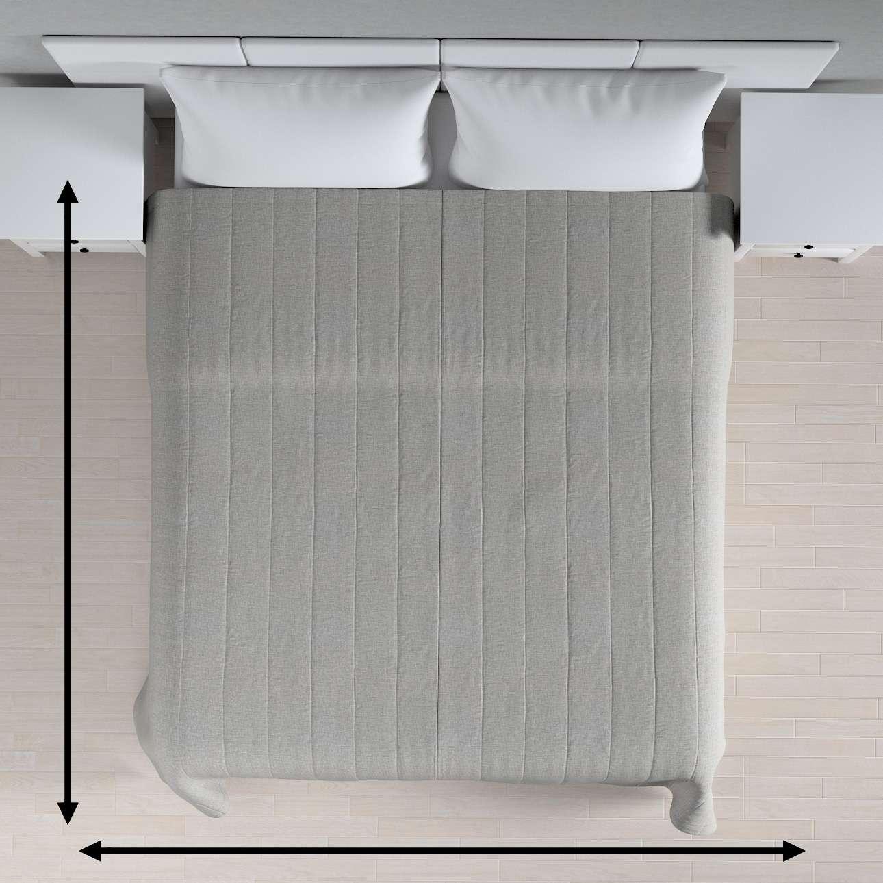 Sengeteppe quiltet<br/>10cm striper fra kolleksjonen Living 2, Stoffets bredde: 160-89