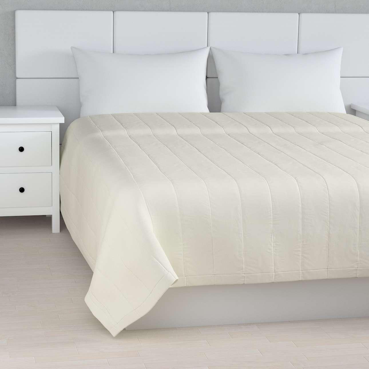 Sengeteppe quiltet<br/>10cm striper fra kolleksjonen Jupiter, Stoffets bredde: 127-00