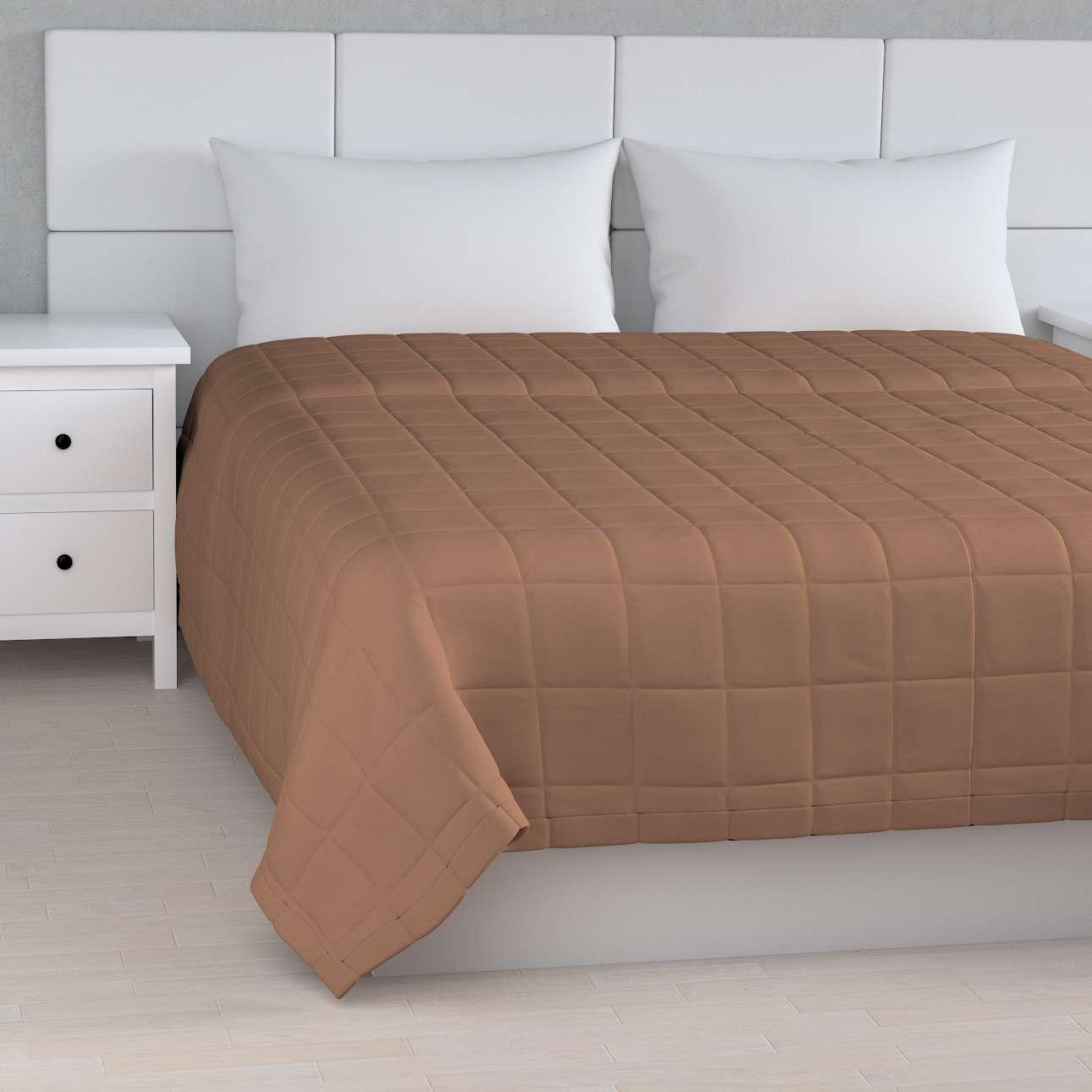 Přehoz s prošitím do čtverců v kolekci Cotton Panama, látka: 702-02