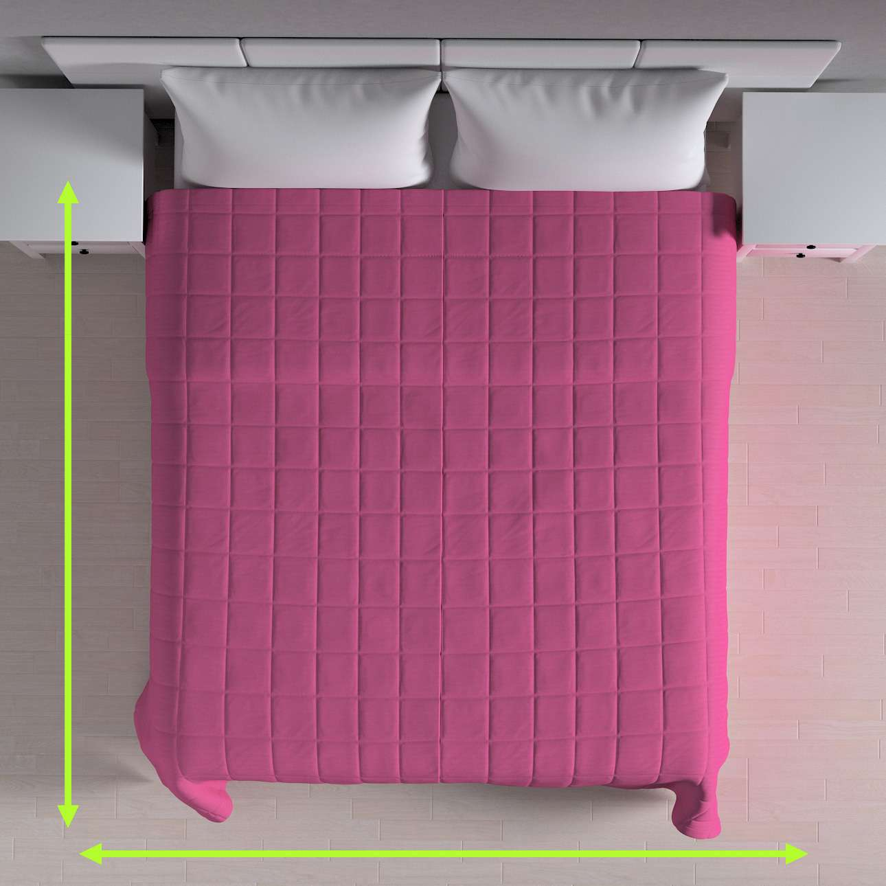 Check quilted throw in collection Jupiter, fabric: 127-24