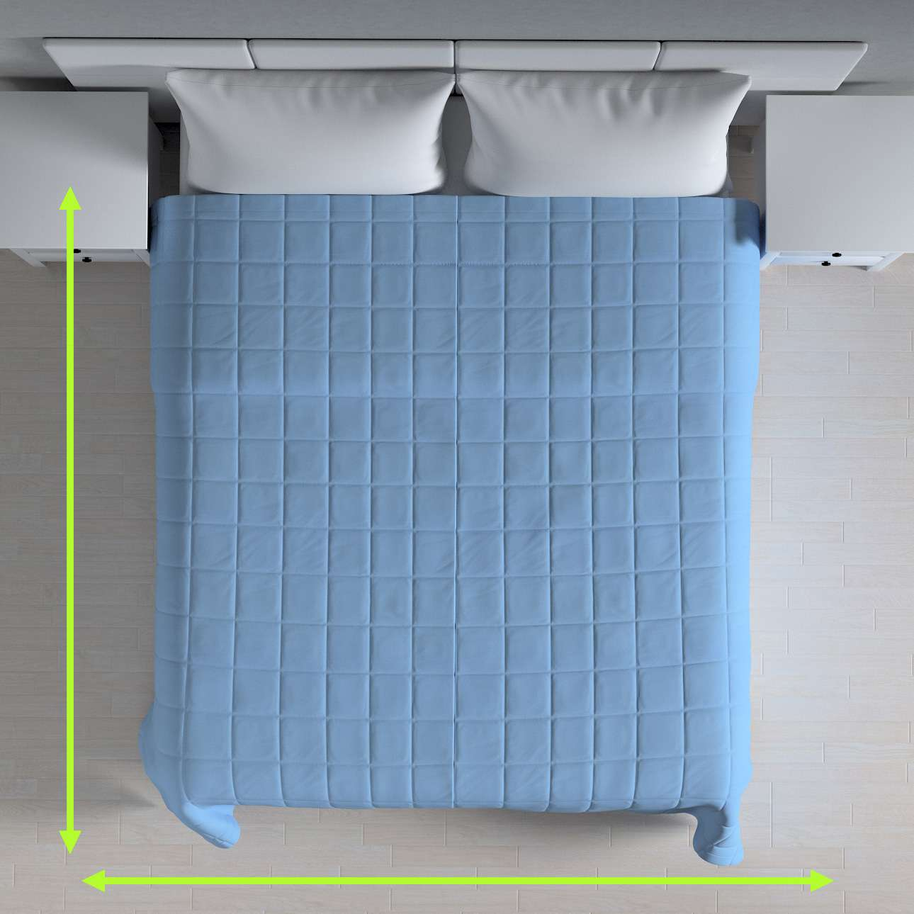 Check quilted throw in collection Loneta , fabric: 133-21