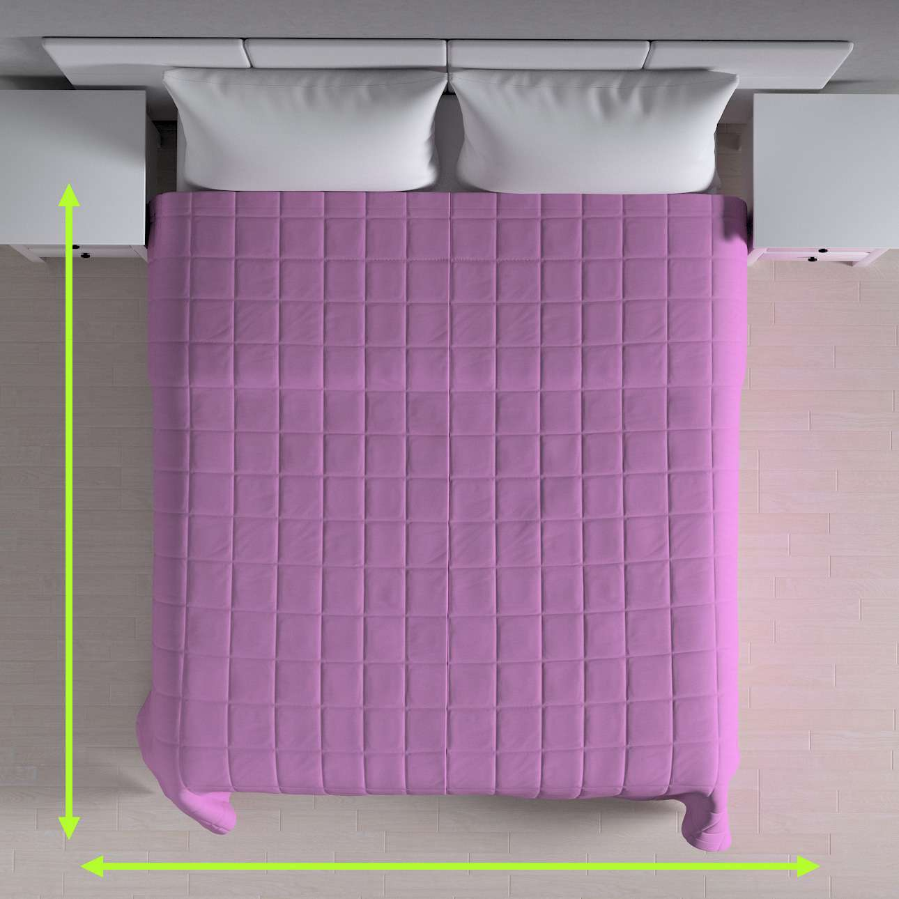 Check quilted throw in collection Loneta , fabric: 133-38