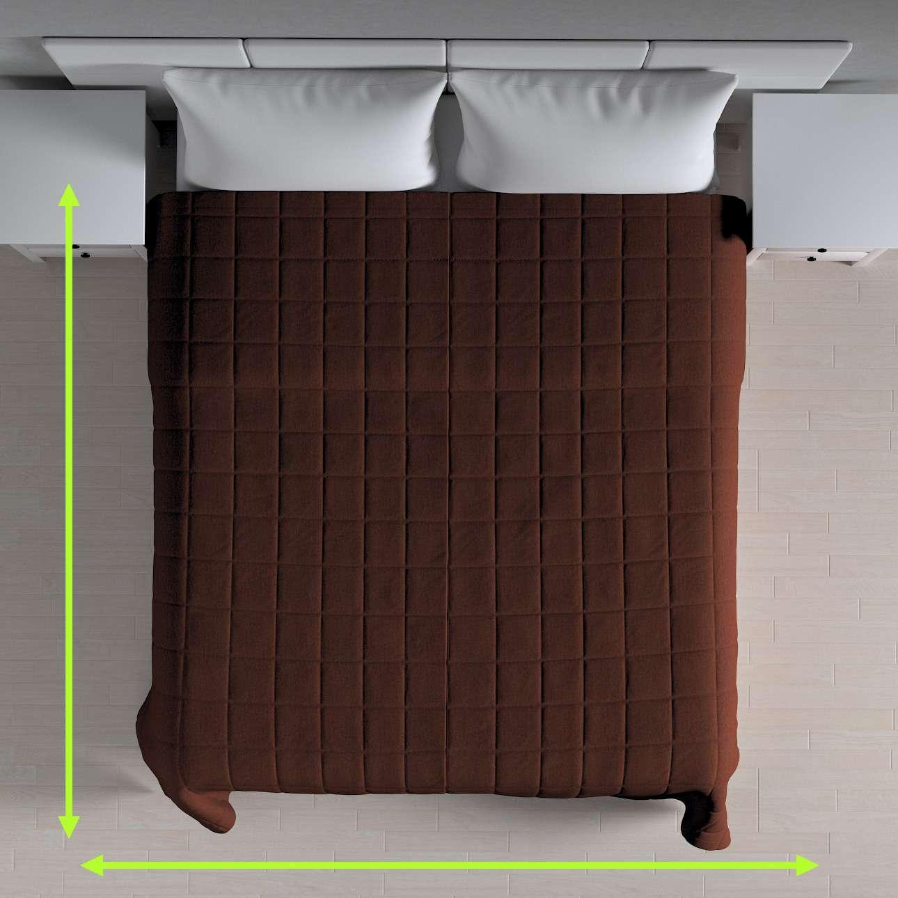 Přehoz s prošitím do čtverců v kolekci Chenille , látka: 702-18