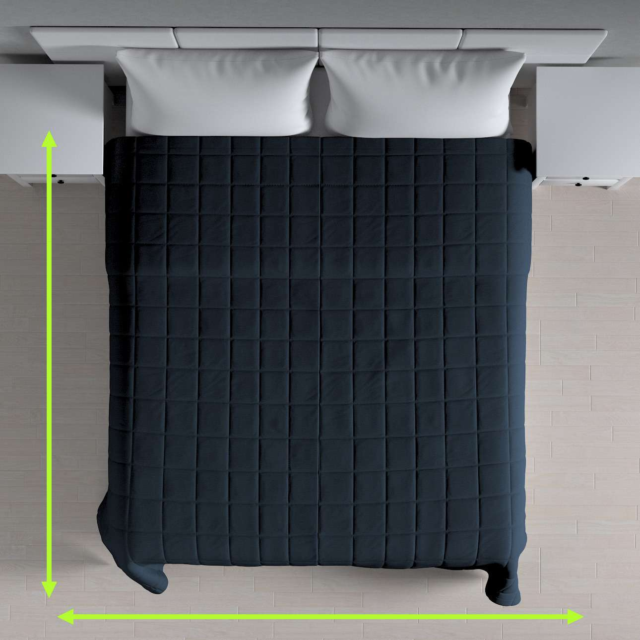 Basic takaró káró steppeléssel a kollekcióból Quadro Lakástextil, Dekoranyag: 136-04