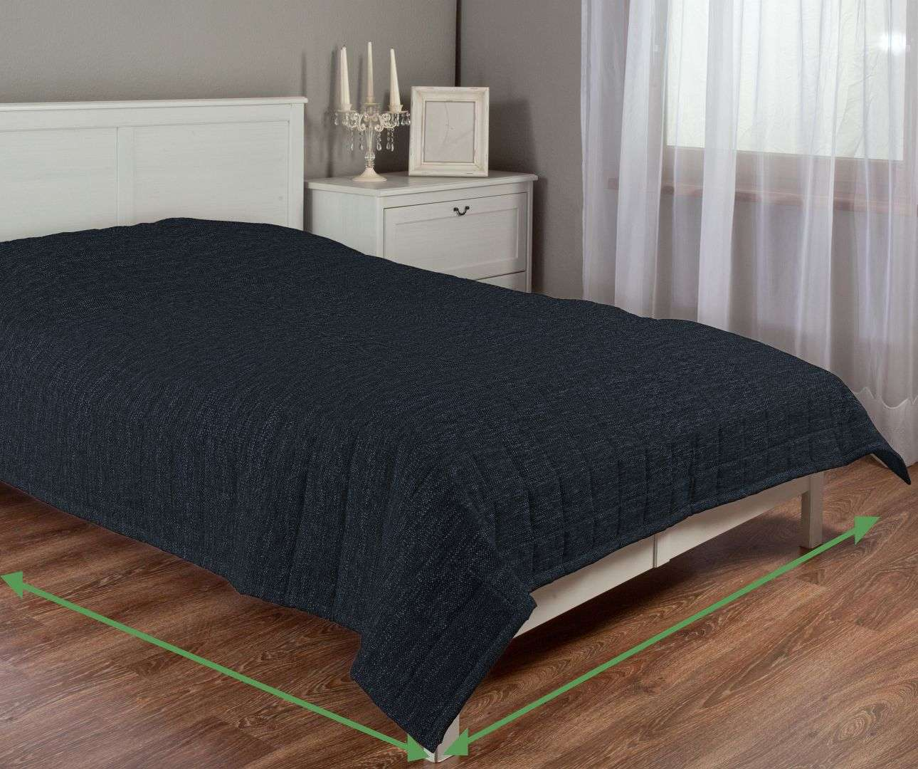 Check quilted throw in collection Vintage, fabric: 702-38