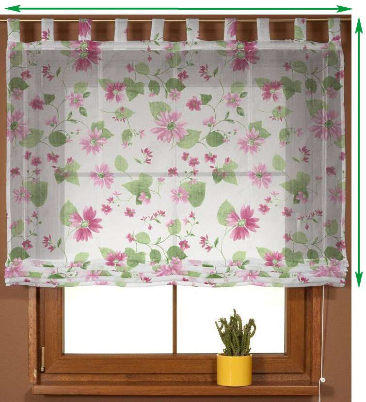 Palermo voile blind in collection Net Curtains (Firany), fabric: 111-32