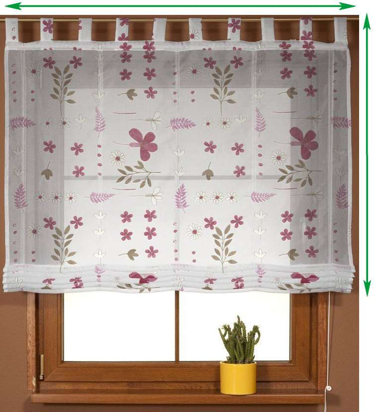 Palermo voile blind in collection Net Curtains (Firany), fabric: 111-42