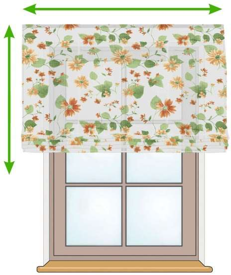 Siena voile blind in collection Net Curtains (Firany), fabric: 111-31