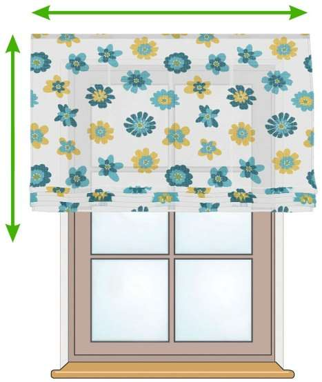 Siena voile blind in collection Net Curtains (Firany), fabric: 111-34