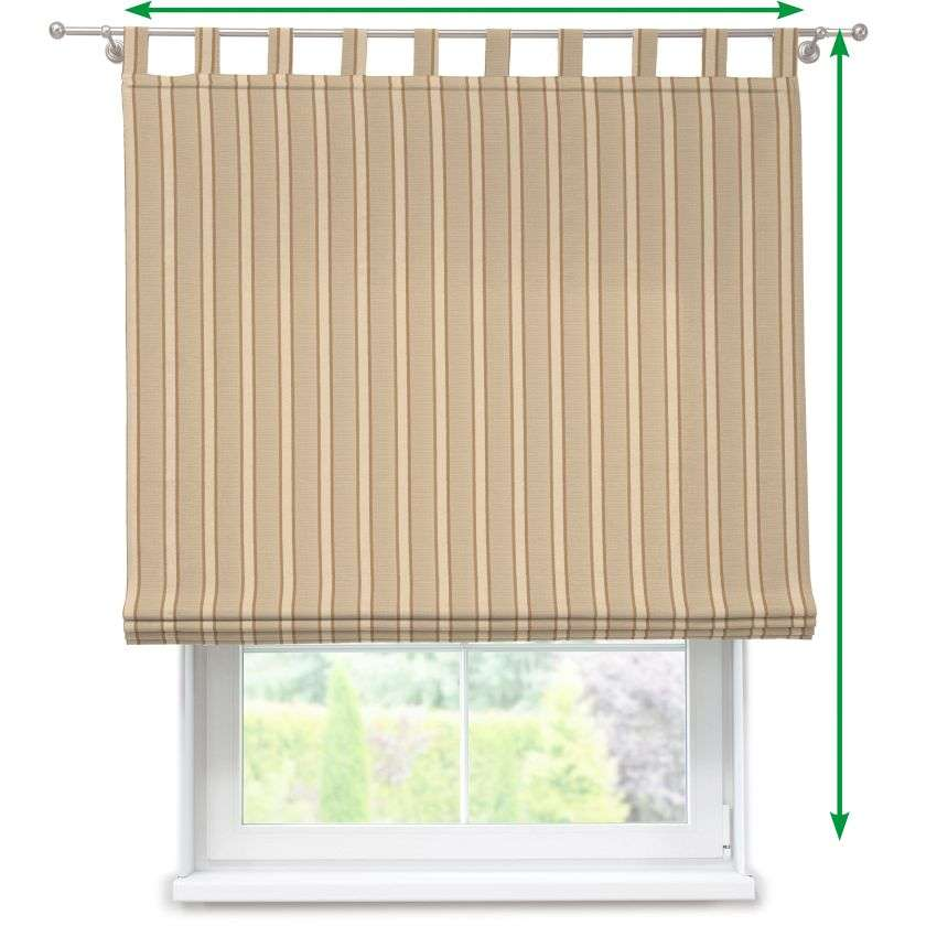Verona tab top roman blind in collection Arcana, fabric: 104-01