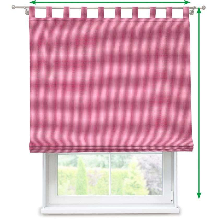 Verona tab top roman blind in collection Kids/Baby, fabric: 119-13