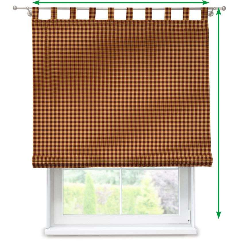 Verona tab top roman blind in collection Bristol, fabric: 126-48