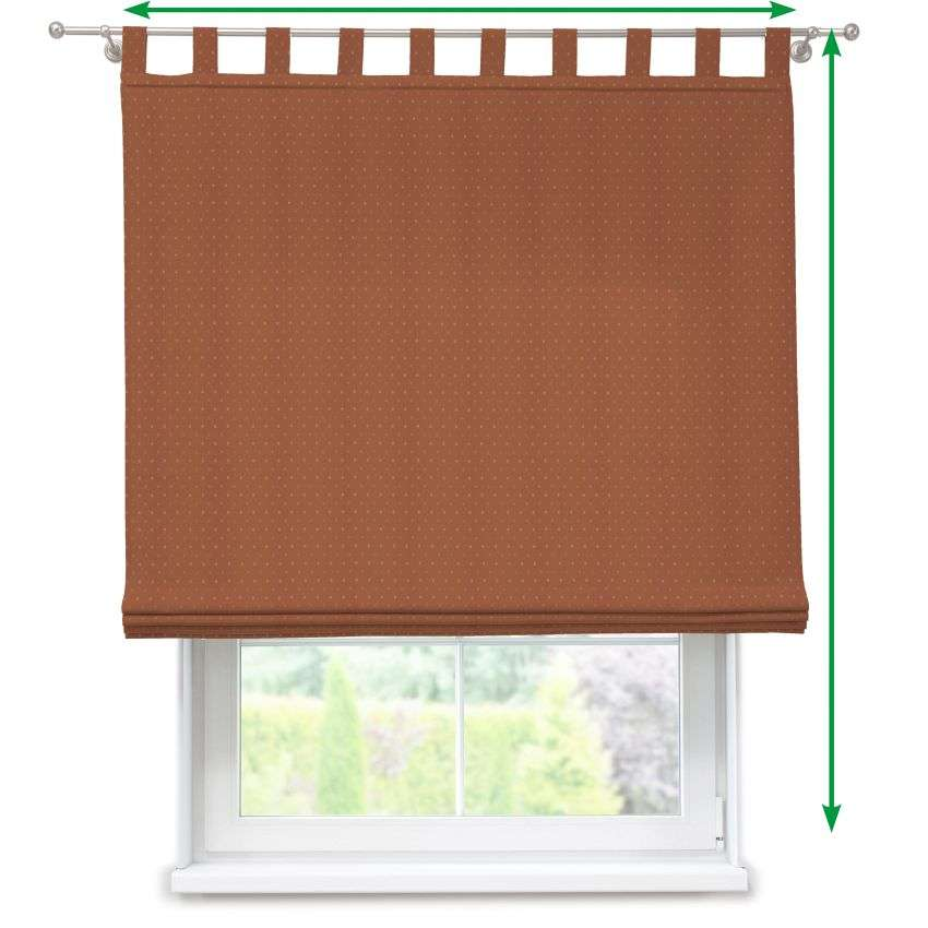 Verona tab top roman blind in collection SALE, fabric: 130-08