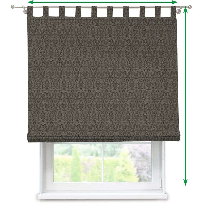 Verona tab top roman blind in collection Victoria, fabric: 130-09