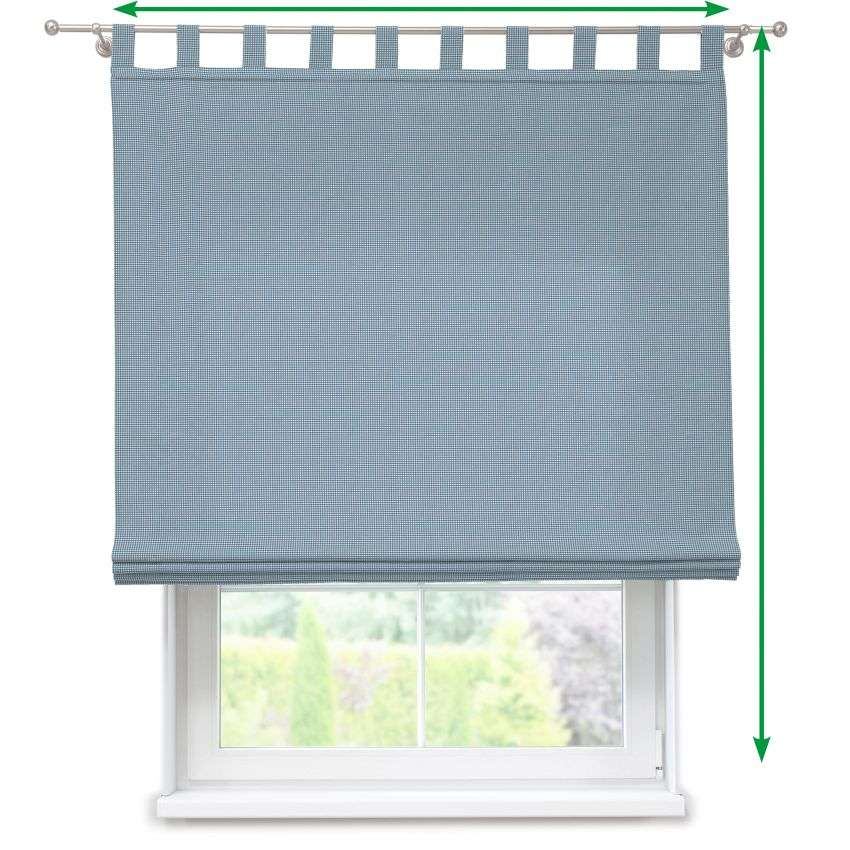 Verona tab top roman blind in collection Amelie , fabric: 135-60