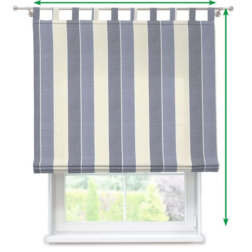 Verona tab top roman blind in collection Cardiff, fabric: 136-27