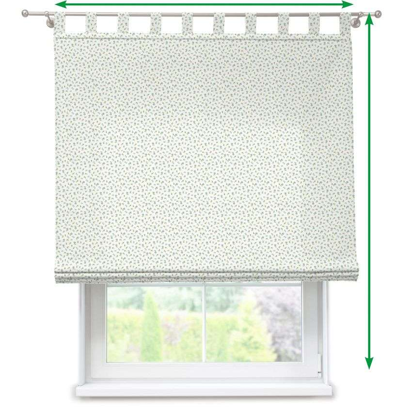Verona tab top roman blind in collection Amelie , fabric: 136-60
