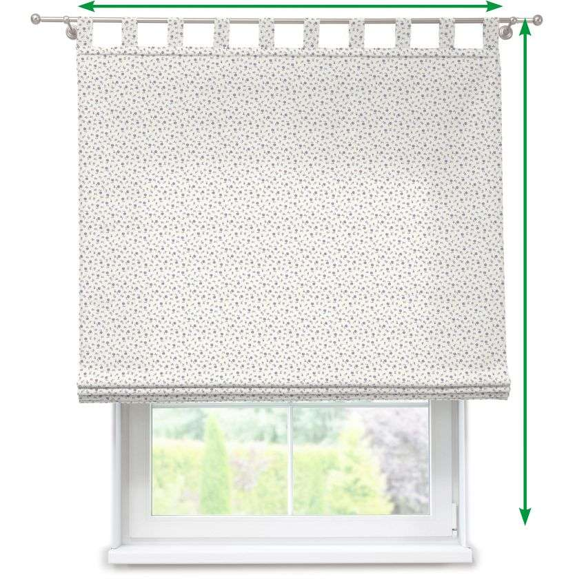 Verona tab top roman blind in collection SALE, fabric: 136-75