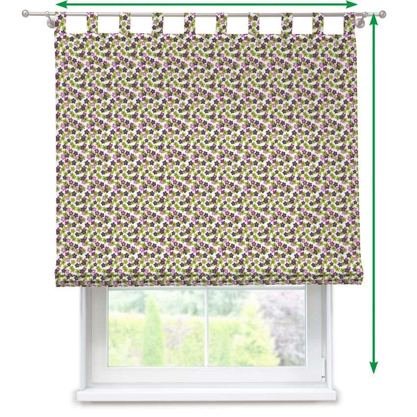 Verona tab top roman blind in collection SALE, fabric: 137-55