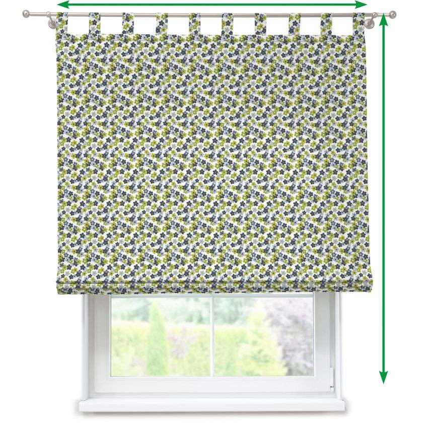 Verona tab top roman blind in collection SALE, fabric: 137-56