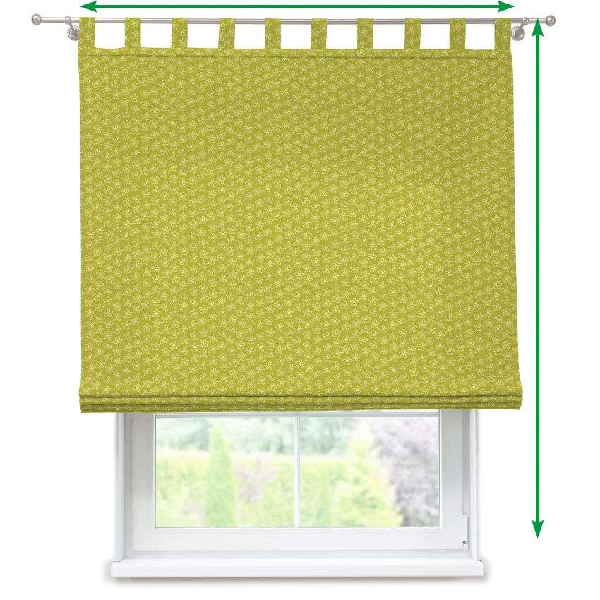 Verona tab top roman blind in collection SALE, fabric: 137-58