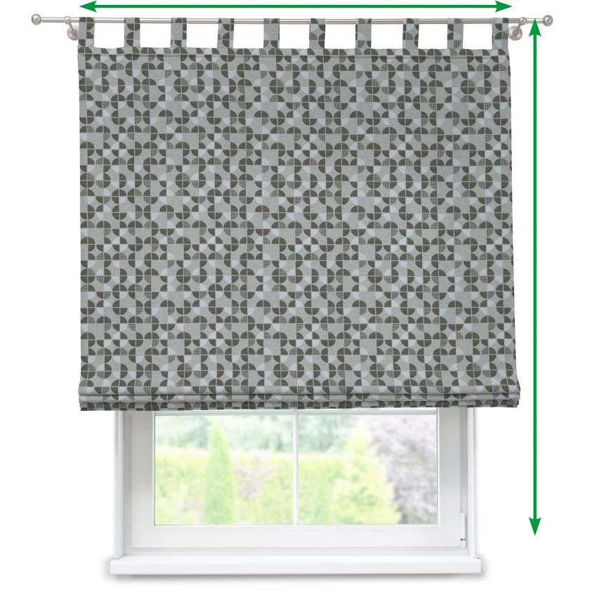 Verona tab top roman blind in collection SALE, fabric: 138-20