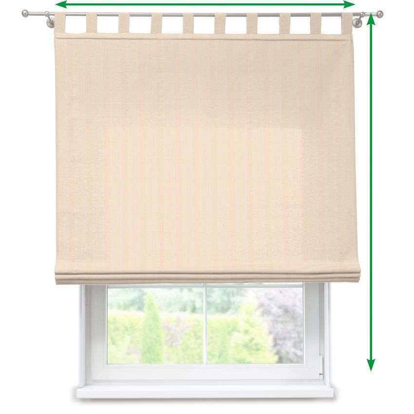 Verona tab top roman blind in collection SALE, fabric: 411-01