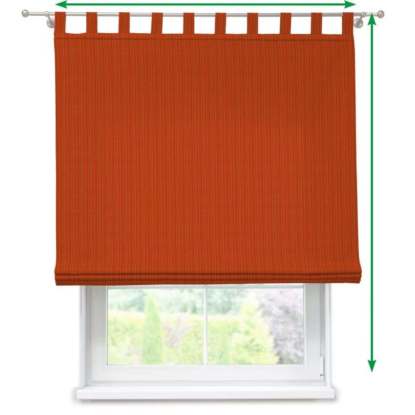 Verona tab top roman blind in collection SALE, fabric: 411-38