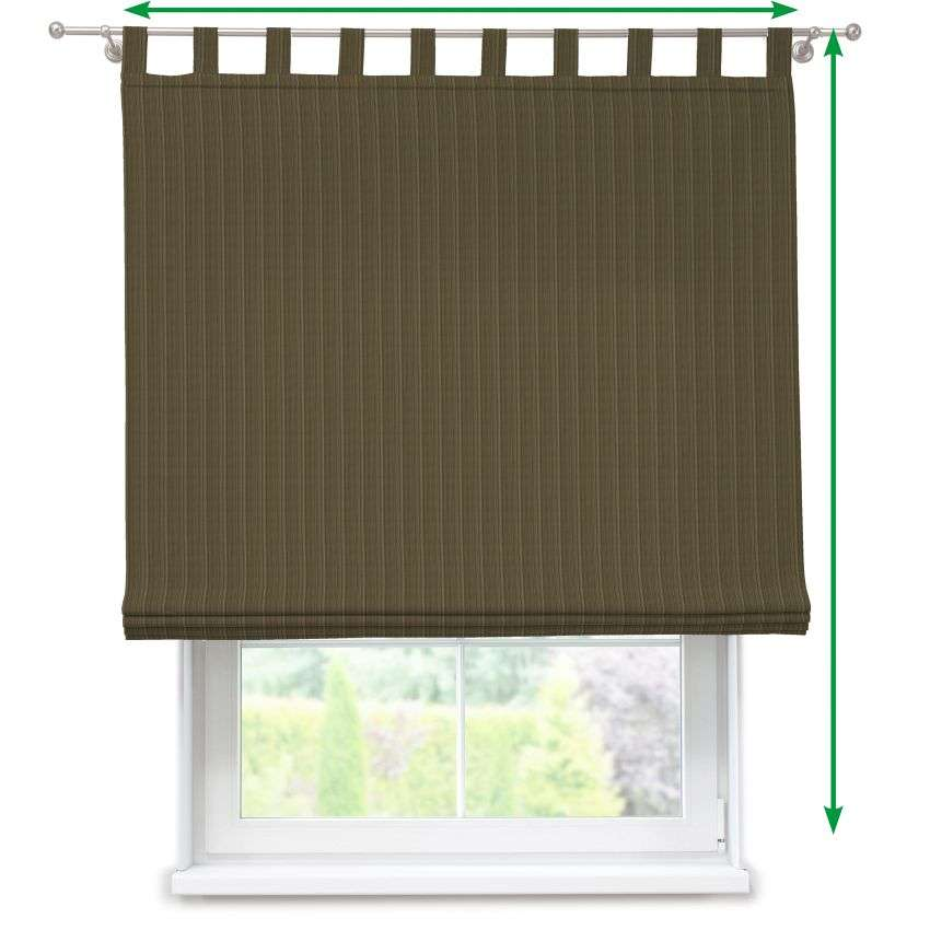 Verona tab top roman blind in collection SALE, fabric: 411-53