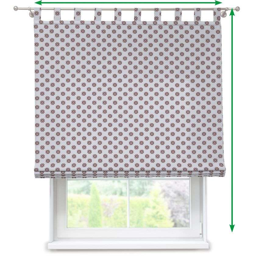 Verona tab top roman blind in collection Christmas , fabric: 630-16