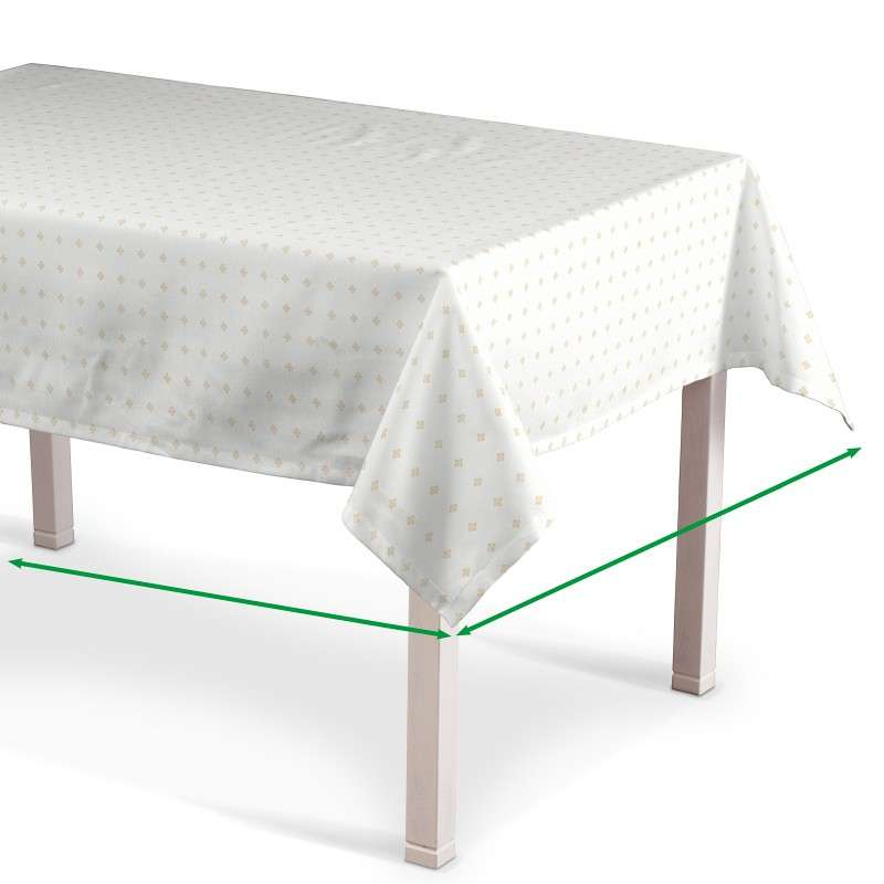 Rectangular tablecloth in collection Arcana, fabric: 102-02