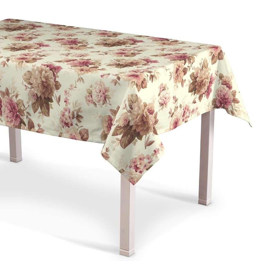 Rektangulär bordsduk  i kollektionen Londres, Tyg: 141-06