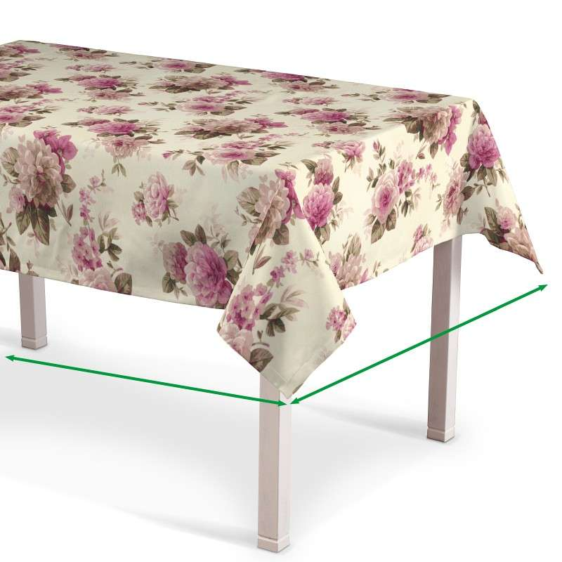 Rectangular tablecloth in collection Londres, fabric: 141-07